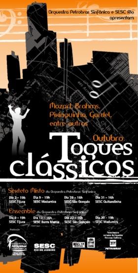 cartaz toque classico outubro